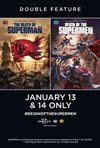 The Death of Superman / Reign of the Supermen Double Feature Movie Poster