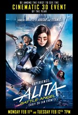 Alita: Battle Angel - Early 3D Fan Event