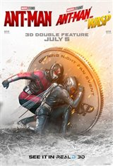 Ant-Man + Ant-Man and The Wasp 3D Double Feature