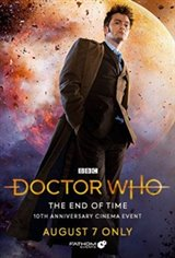 Doctor Who: The End of Time 10th Anniversary