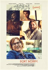 Don't Worry, He Won't Get Far on Foot Movie Poster