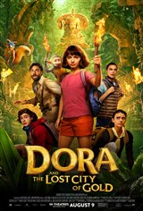 10. Dora and the Lost City of Gold Movie Poster