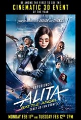 Experience Alita: Battle Angel Early - IMAX 3D Fan Event