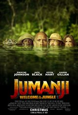 4. Jumanji: Welcome to the Jungle Movie Poster