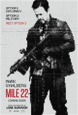3. Mile 22 Movie Poster