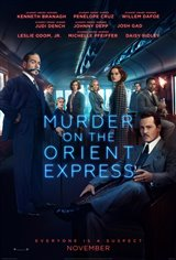 5. Murder on the Orient Express Movie Poster