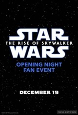 Opening Night Fan Event: Star Wars : The Rise of Skywalker 3D