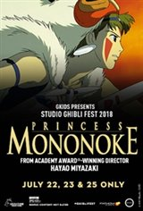 Princess Mononoke - Studio Ghibli Fest 2018