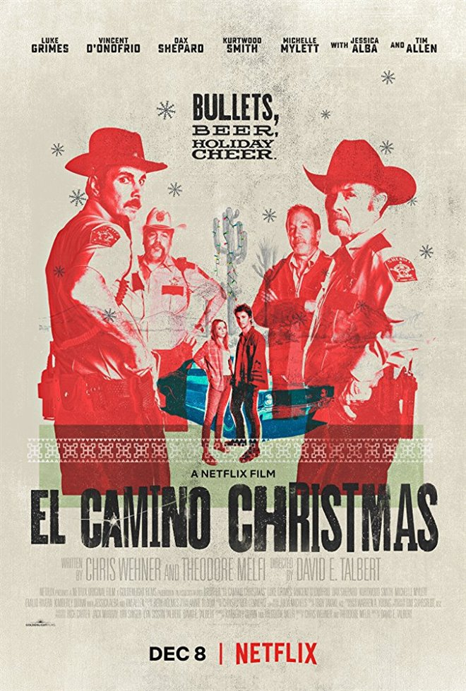 El camino christmas movie poster for New kid movies coming out this weekend
