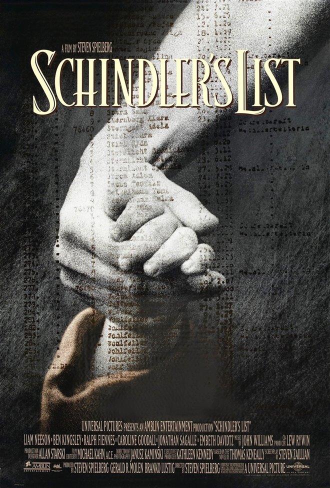 schindler s list movie poster