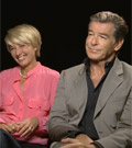 Emma Thompson & Pierce Brosnan Interview - The Love Punch