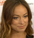 Olivia Wilde on the red carpet for Rush - video