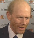 Rush director Ron Howard on the red carpet