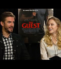 Dan Stevens & Maika Monroe Interview - The Guest