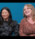 Unjoo Moon and Danielle Macdonald talk 'I Am Woman'