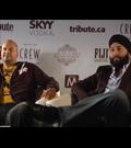 Ali Hassan & Rup Magon - Breakaway Interview at TIFF 2011