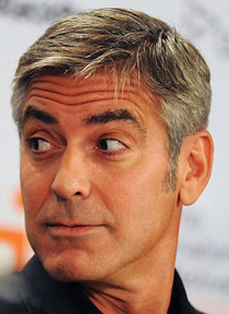 George Clooney charms at TIFF press conference