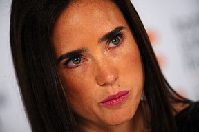 Jennifer Connelly in tears at TIFF