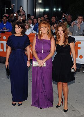 Sarah Ferguson and Princess Eugenie of York