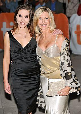 Olivia Newton John and daughter Chloe Lattanzi