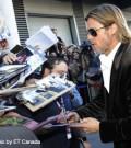 Brad Pitt, Ryan Gosling, George Clooney walking red carpet tonight
