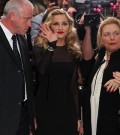 Madonna arrives on the red carpet at the premiere of her second directorial effort, W.E.