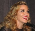 Madonna answers questions following the screening of her new movie, W.E.