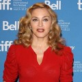 US director Madonna attends the press conference of ''W.E.'' at Bell Lightbox in Toronto