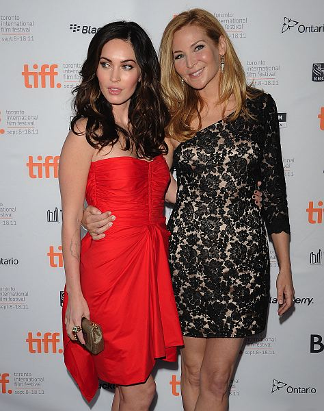 Photo of Megan Fox & her friend  Jennifer Westfeldt