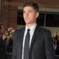 Zac Efron on the red carpet for The Paperboy