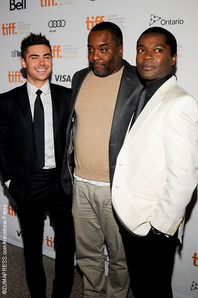 Zac Efront, director Lee Daniels and actor David Oyelowo