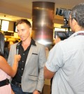 Rob Stewart on the red carpet