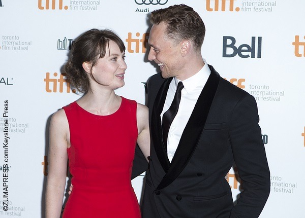 Mia Wasikowska and Tom Hiddleston share a laugh « 2016 ... Jesse Eisenberg Address