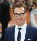 Benedict Cumberbatch poses with fans at Imitation Game TIFF Gala