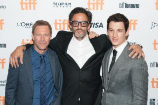 Bleed for This actors and director walk TIFF red carpet