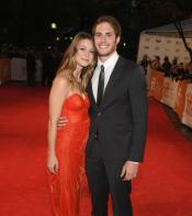 Melissa Benoist and husband actor Blake Jenner