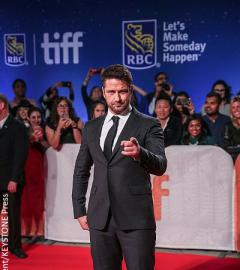 Gerard Butler returns to Toronto for TIFF premiere of The Headhunter's Calling