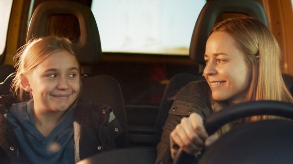 Paula and Linnea in Little Wing