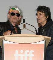 Keith Richards and Ronnie Wood