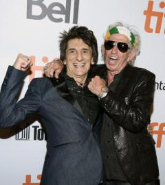 The Rolling Stones rock the TIFF red carpet