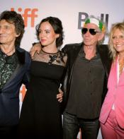 Ronnie Wood,  wife Sally Wood, Keith Richards and wife Patti Richards