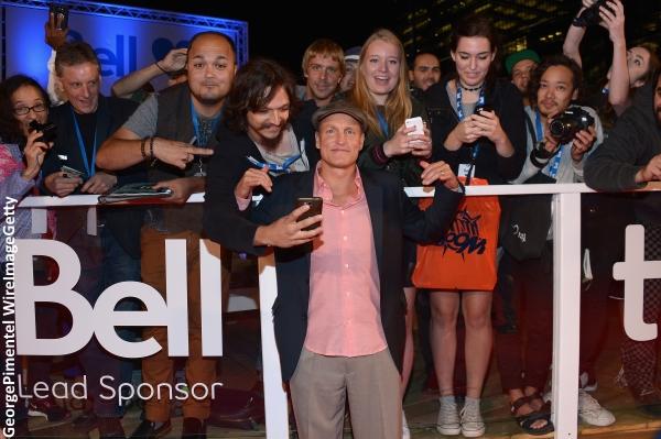 Woody Harrelson at TIFF premiere of LBJ