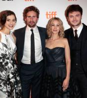 Alias Grace stars pose for photo