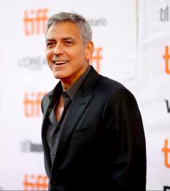 George Clooney walks TIFF red carpet for Suburbicon