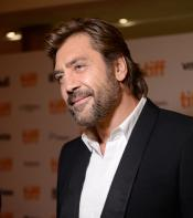 Javier Bardem on the red carpet