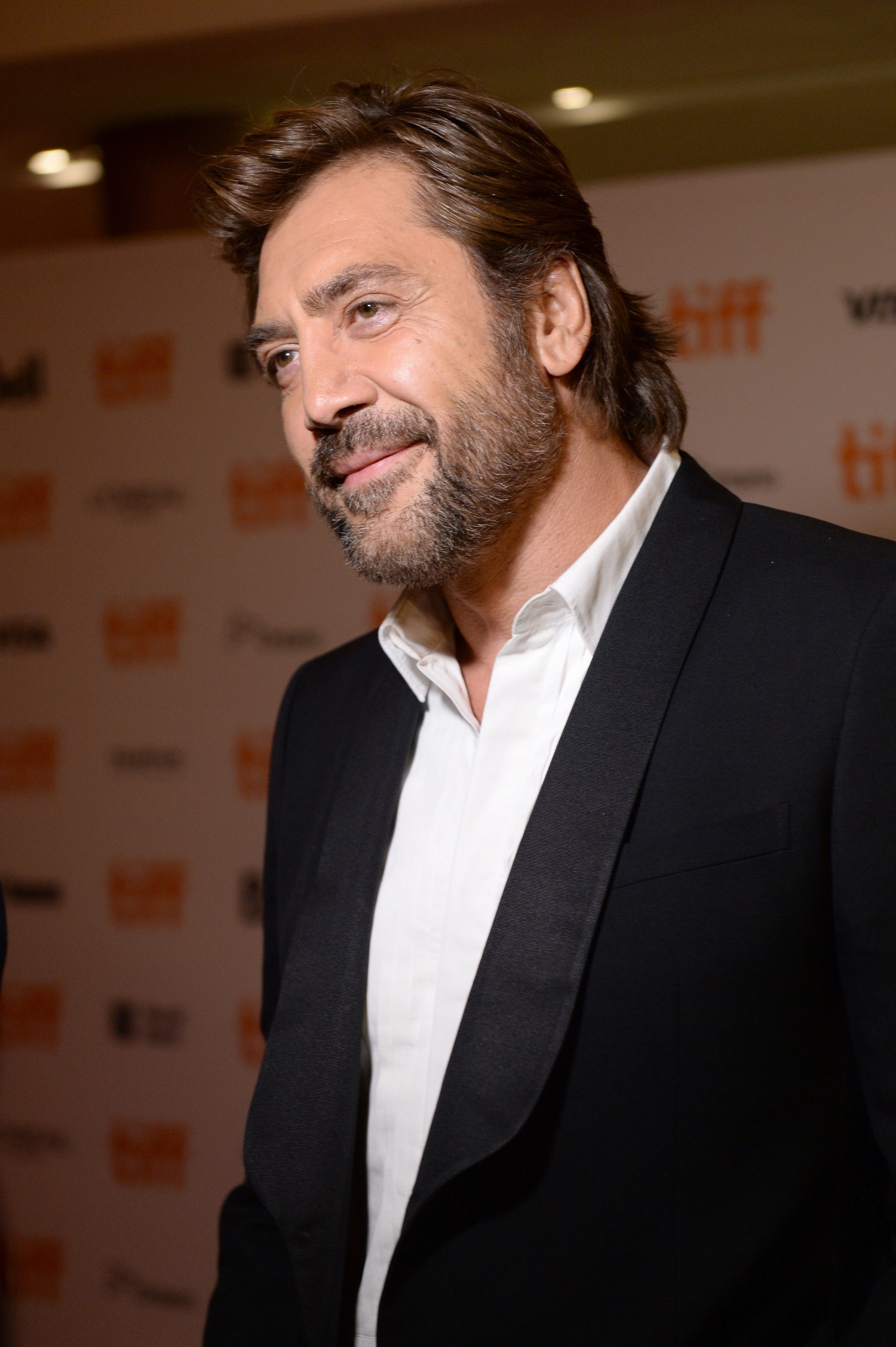 Javier Bardem on the r... Javier Bardem