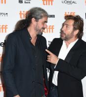 Javier and Fernando talking