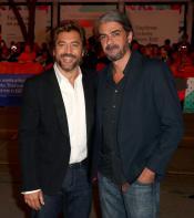 Javier Bardem and Fernando León de Aranoa