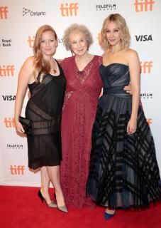 Sarah Polley, Margaret Atwood and Sarah Gadon