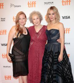 Cast of Alias Grace join Margaret Atwood on TIFF red carpet